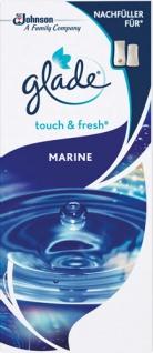 Glade Touch & Fresh Minispray Marine, NACHFÜLLUNG (Kartusche)