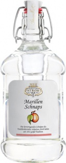 Stroh Tradition Marillen Schnaps, 35 % Vol.Alk., Krug