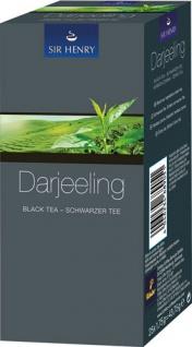 Sir Henry Tchibo Darjeeling, Schwarzer Tee, Teebeutel im Kuvert, 2. Entnahmefach/displaytauglich