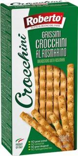 Roberto Crocchini Grissini al Rosmarino, 4 Frischepacks à 62, 5 g