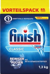 finish Classic Reiniger-Pulver, Basis-Reinigung für ca. 65 Spülgänge