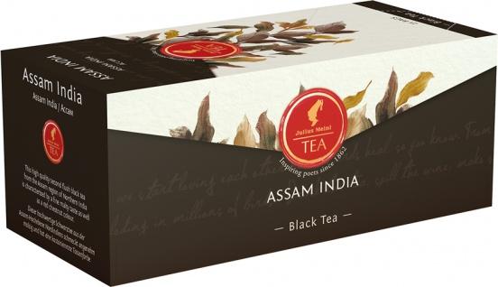 Julius Meinl Assam India, Schwarztee, Teebeutel im Kuvert, 2. Entnahmefach/displaytauglich
