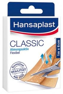 Hansaplast Classic Pflaster zuschneidbar, 10 Stück à 10 x 6 cm