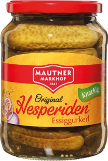 Mautner Markhof Hesperiden Essiggurkerl