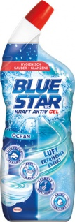 Blue Star WC Kraft Aktiv Gel Ocean, WC-Gel