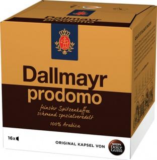 Nescafé Dolce Gusto Dallmayr Prodomo 5, 16 Kaffeekapseln