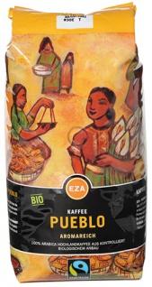 EZA Fairtrade Pueblo Aromareich, Bio-Kaffee, Ganze Bohne