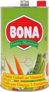 Bona Feinstes Pflanzenöl, aus Sonnenblumen & Raps