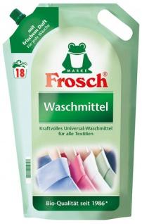 Frosch Waschmittel UNIVERSAL, flüssig BIO 18 WG
