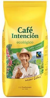 J.J.Darboven Fairtrade Café Intención ecológico Café Crema, Bio-Kaffee, Ganze Bohne