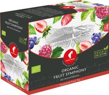 Julius Meinl Bio Früchtereigen Big Bag (1 Beutel für ca. 1 lt. Wasser), Früchtetee, Teebeutel im Ku