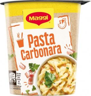 Maggi Quick Snack Pasta Carbonara, 1 Portion