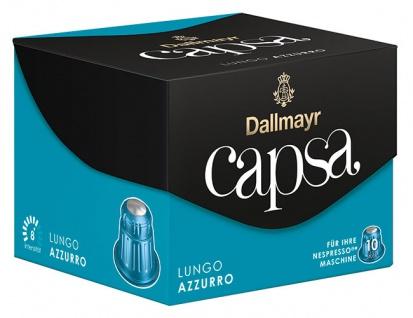 Dallmayr Capsa Lungo Azzurro 8, Nespresso-kompatibel, 10 Kaffeekapseln
