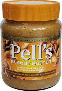 Pell's Erdnussbutter Crunchy/mit Erdnussstückchen