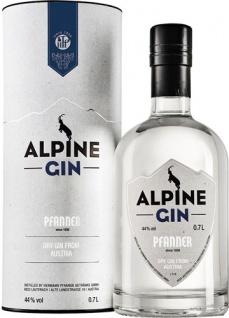 Pfanner Alpine Dry Gin, 44 % Vol.Alk., Österreich, in Geschenkdose