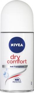 Nivea Dry Comfort Anti-Transpirant, 48h Deo Roll-on, Anti-Transpirant/Anti-Perspirant