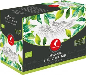 Julius Meinl Bio Pure Chun Mee Big Bag (1 Beutel für ca. 1 lt. Wasser), Grüner Tee, Teebeutel im Ku