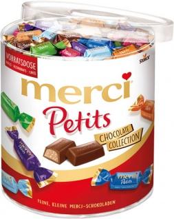 Merci Petits Chocolate Collection, 7 Sorten, einzeln verpackt, ca. 167 Stück