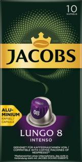 Jacobs Lungo Intenso 8, Nespresso-kompatibel, 10 Kaffeekapseln
