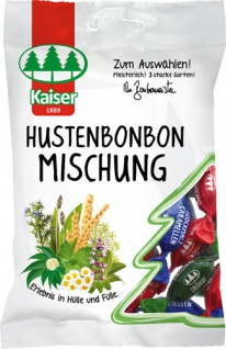Kaiser Hustenbonbon-Mischung, 3 Sorten