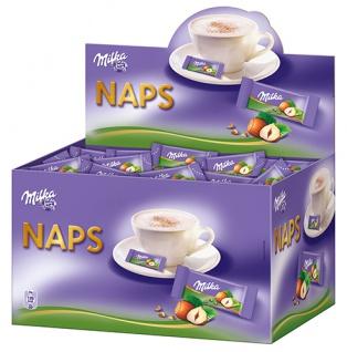 Milka Naps Haselnuss, einzeln verpackt, ca. 355 Stück