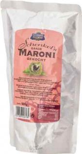 Schenkel Ganze Maroni gekocht