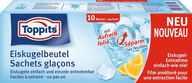 Toppits Eiskugelbeutel, 10 Stück