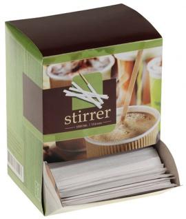 naturesse Kaffee-Rührstäbchen Holz, Display-Karton