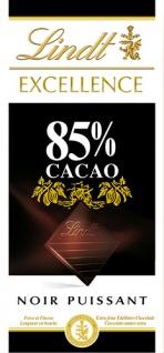 Lindt Excellence 85 % Cacao Noir