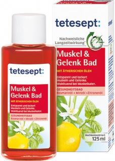 tetesept Badekonzentrat Muskel & Gelenk, mit Zitronen- und Minzöl