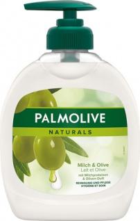 Palmolive Naturals Milch & Olive, Flüssigseife, ORIGINAL (Pumpe)
