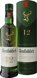 Glenfiddich Single Malt Scotch Whisky 12 Years, 40 % Vol.Alk., Schottland, in Geschenkdose