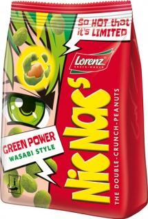 Lorenz NicNac's Green Power Wasabi Style, Erdnüsse in pikanter Teighülle