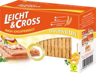 Leicht & Cross Goldweizen, Knusperbrot - Vorschau