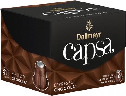 Dallmayr Capsa Espresso Chocolat 5, Nespresso-kompatibel, 10 Kaffeekapseln