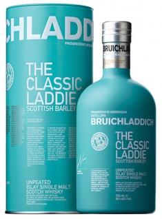 Bruichladdich The Classic Laddie Scottish Barley Single Malt Scotch Whisky, 50 % Vol.Alk., Schottla