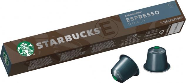 Starbucks Espresso Roast 11, Nespresso-kompatibel, 10 Kaffeekapseln