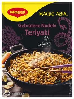Maggi Magic Asia Gebratene Nudeln Teriyaki, 2 Portionen