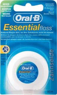 Oral-B Essential Floss Minzgeschmack, Zahnseide gewachst