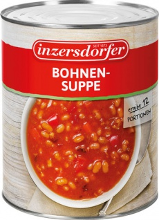 Inzersdorfer Bohnensuppe, 12 Portionen
