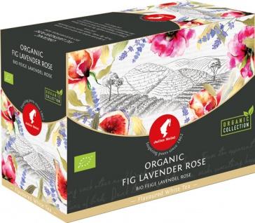 Julius Meinl Bio Feige-Lavendel-Rose Big Bag (1 Beutel für ca. 1 lt. Wasser), Weisser Tee, Teebeute