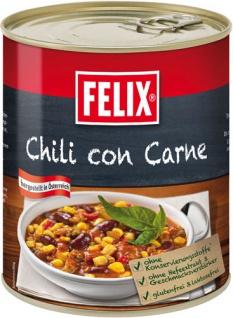 Felix Chili con Carne, mit pikanter Chiliwürzung