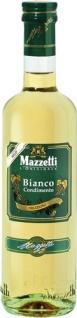 Mazzetti Bianco Condimento Delizioso mild 1 Blatt, Essigspezialität aus Weißweinessig und Traubenmo