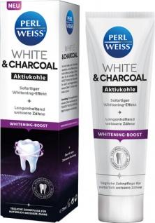 Perlweiss White & Charcoal Aktivkohle, Zahncreme