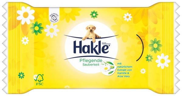 Hakle Feucht für unterwegs Pflegende Sauberkeit Kamille & Aloe Vera, feuchte Toilettentücher
