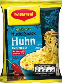 Maggi Magic Asia Nudel Snack Huhn, 1 Portion