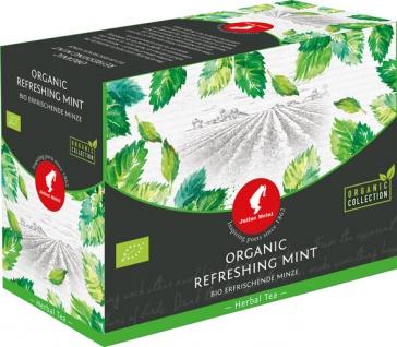 Julius Meinl Bio Erfrischende Minze Big Bag (1 Beutel für ca. 1 lt. Wasser), Kräutertee, Teebeutel