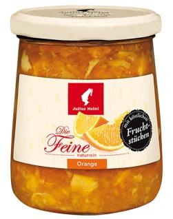 Julius Meinl Die Feine Orange, Marmelade naturrein, mit köstlichen Fruchtstücken