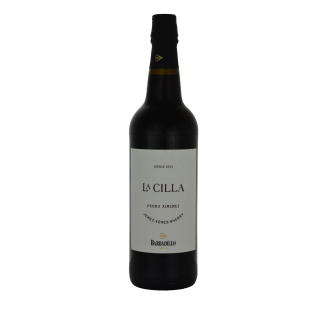 La Cilla Pedro Ximenez Barbadillo Sherry DO Jerez