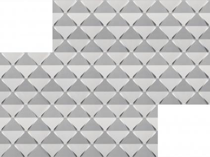 3D Wandpaneele Styroporplatten Wandverkleidung Wanddekor Verblender Harmony Sparpaket - Vorschau 3